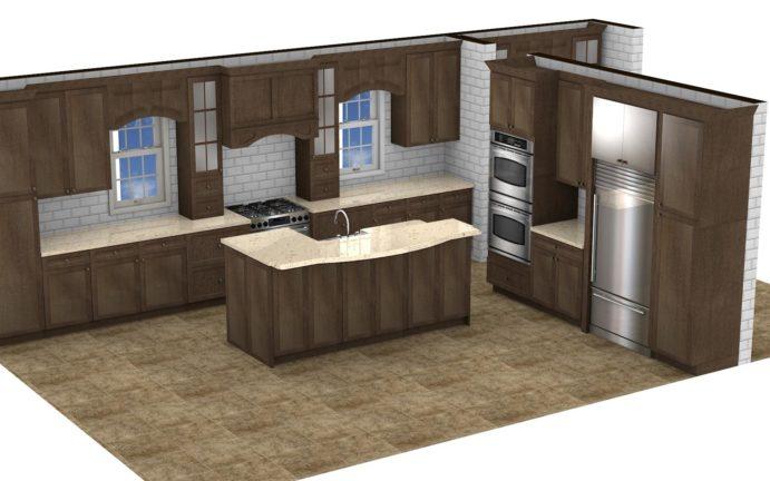 Kitchen Cabinet Design - Asbury Ln - Winnetka