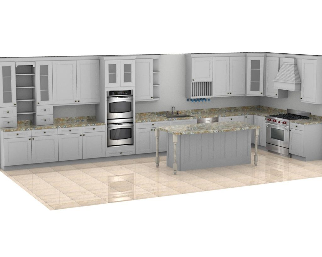 Kitchen Cabinet Design - Merrill Ave