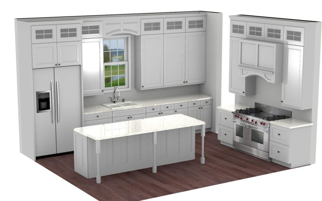 Kitchen Cabinet Design - Edgewood - Winnetka