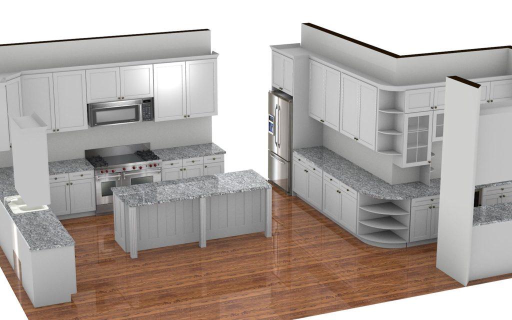 Kitchen Cabinet Design - Farnsworth Ln - Northbrook IL