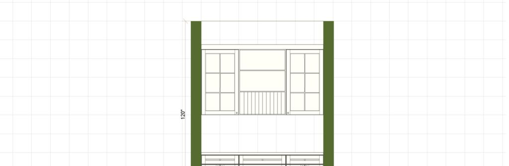 Kitchen Cabinet Design - Farnsworth Ln - Northbrook IL - Butler Elevation
