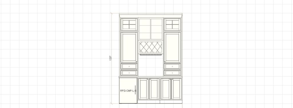 Kitchen Cabinet Design - Butlers Pantry - Fairview Rd Glencoe