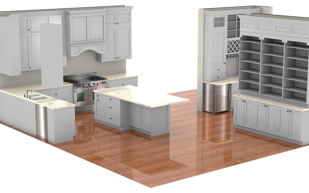 Kitchen Cabinet Design - Fairview Rd Glencoe IL