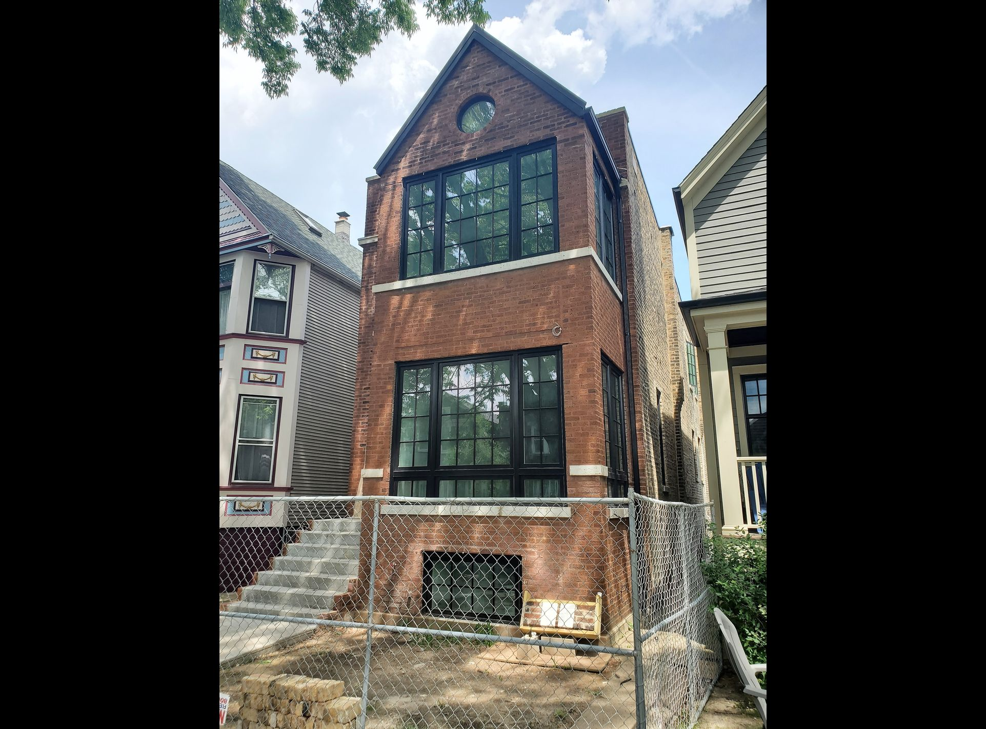 David Harney Windows Renovation Cullom Rd Chicago IL Front 2